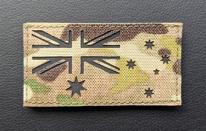 Multicam Australian Flag Patch