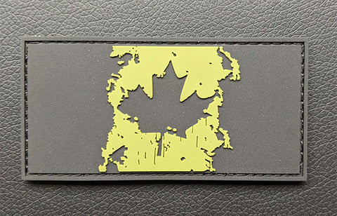 Splatter Canadian Flag (PVC)