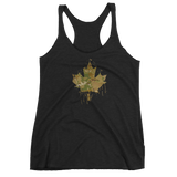 Women's Splatter Cam Maple Leaf Tank