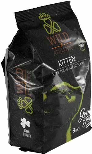 Wild Atlantic Kitten 3 Kg - Grain Free Super Premium Cat Food