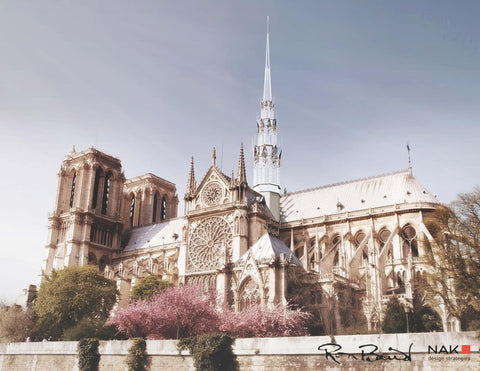 Sculpture and architecture harmonize for beautiful Notre-Dame Cathedral Design