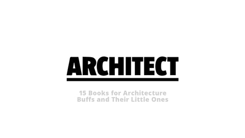 "Norman's Architecture Adventure featured in Architect Magazine's ""15 Books for Architecture Buffs and Their Little Ones"""