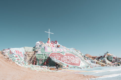 Slab City - Salvation Mountain - Salton Sea