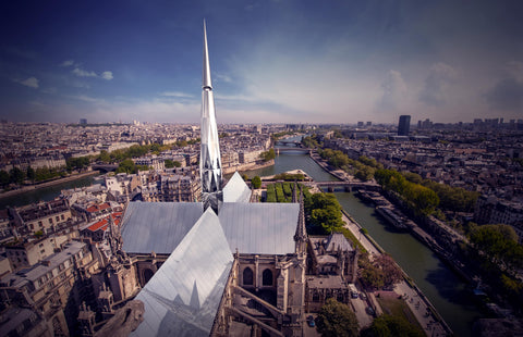 Designers Zeyu Cai and Sibei Li win The People's Notre-Dame Cathedral Design Competition
