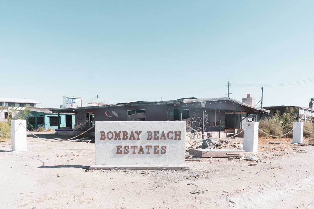 Bombay Beach Estates California Abandoned