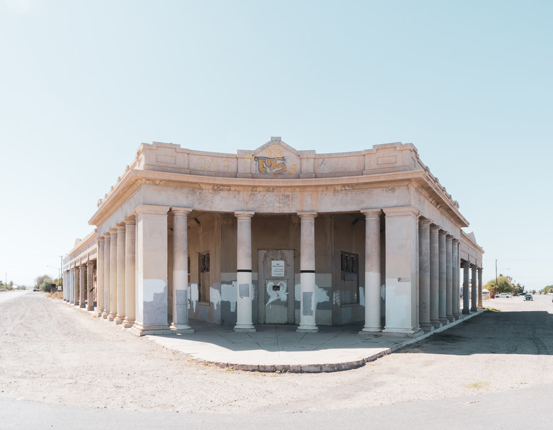 Niland Bank Building, Slab City, California