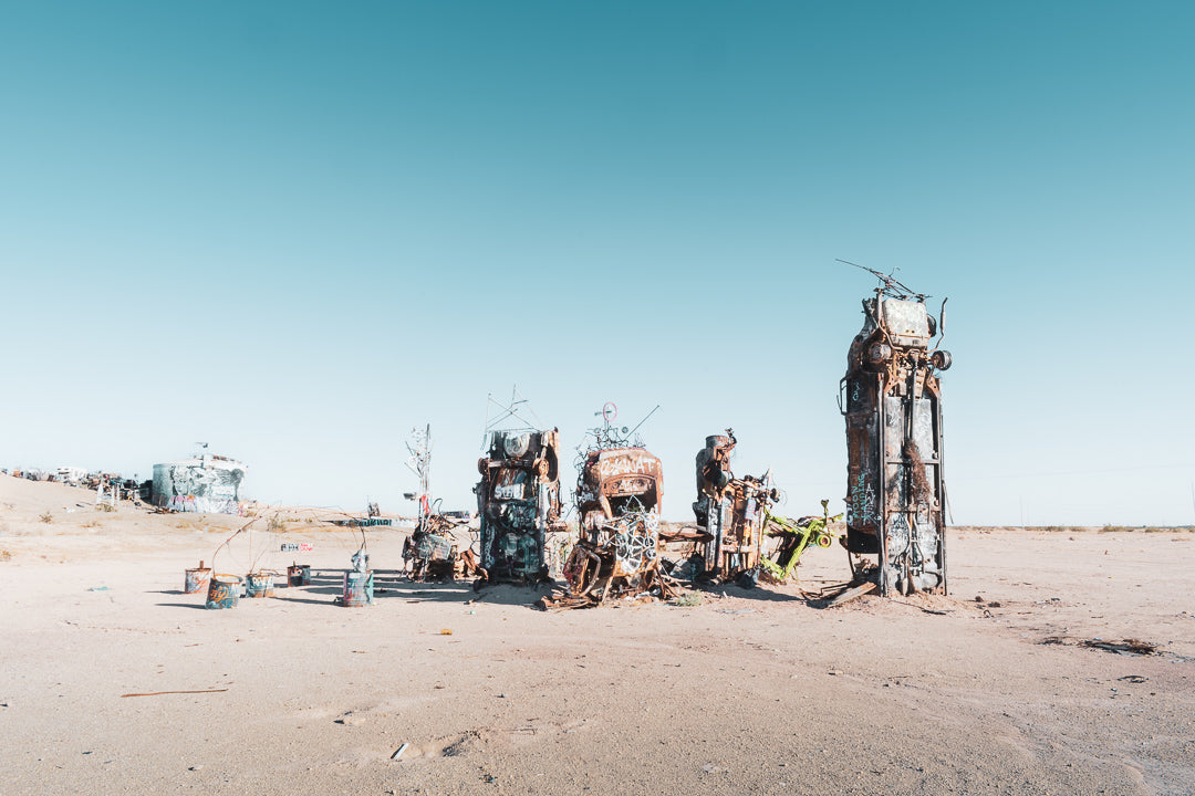 Slab City, Old Cars, Sculpture