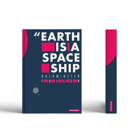 Spaceship Earth notebook: Inspired by Buckminster Fuller
