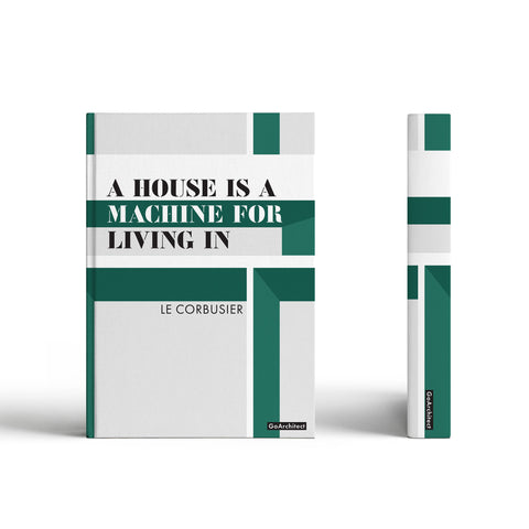 Machine for Living notebook: Inspired by Le Corbusier