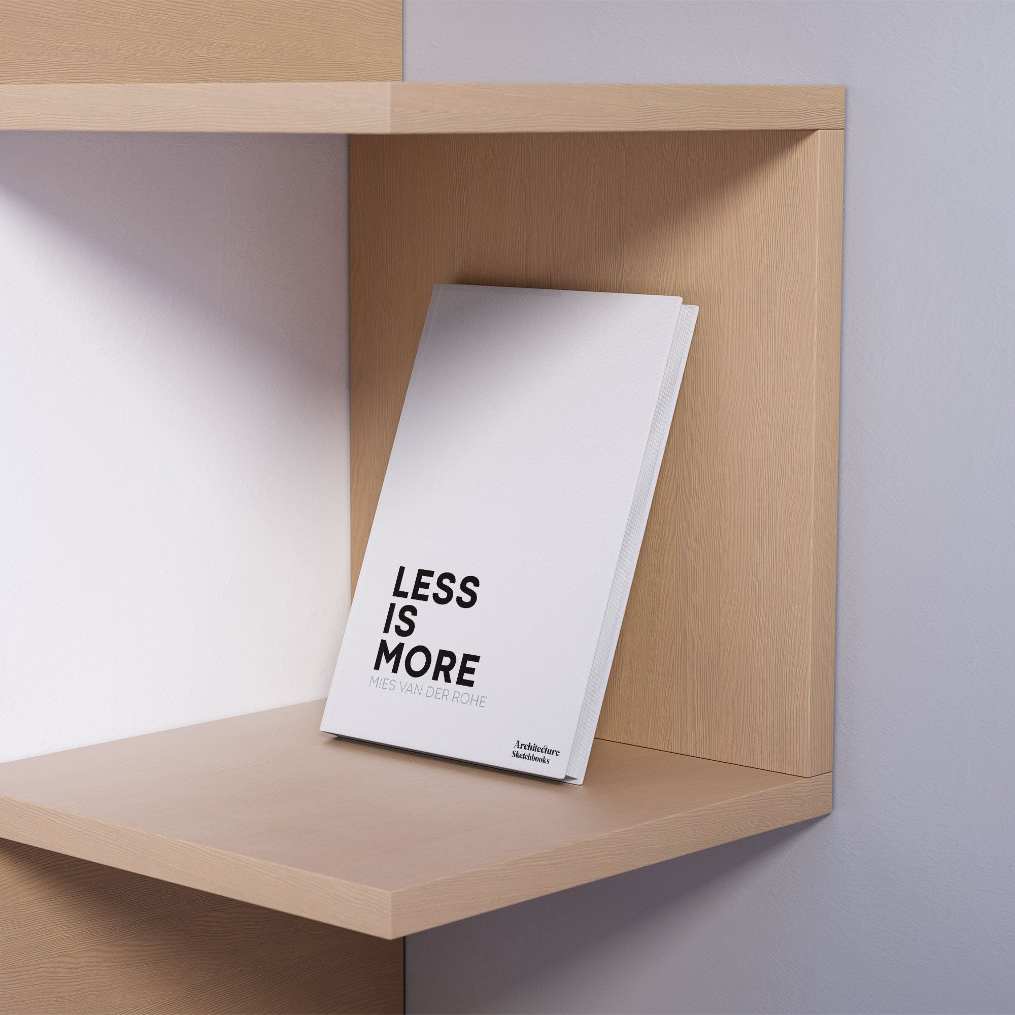 Less is More notebook: Inspired by Mies van der Rohe