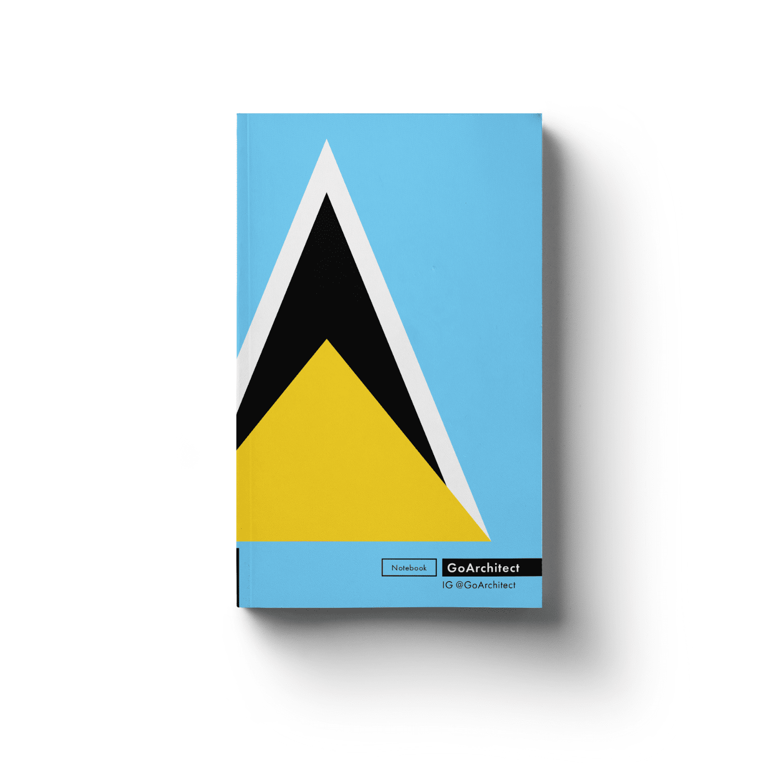 Saint Lucia notebook
