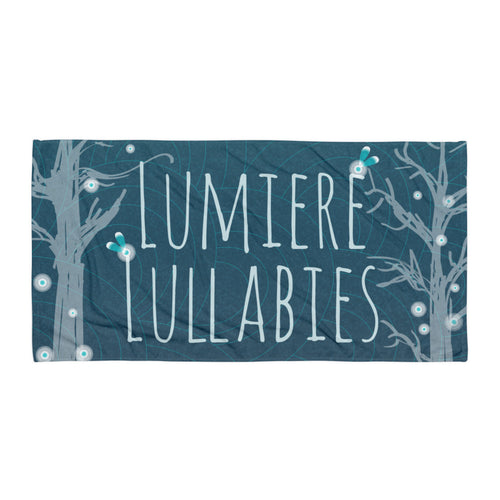 Lumiere Beach Towel