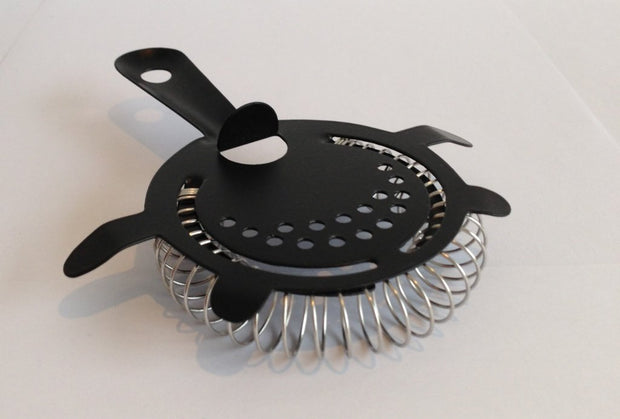 Black 4 Prong Strainer