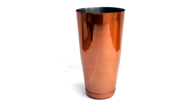8 Piece Cocktail Making Kit in Copper, Tin on Glass