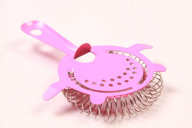 Neon Pink 4 Prong Strainer