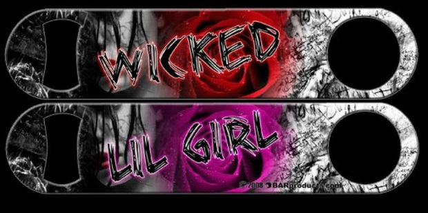Wicked Lil Girl Bar Blade