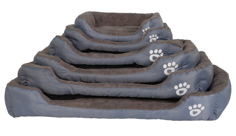 dog bed with sides size comparison