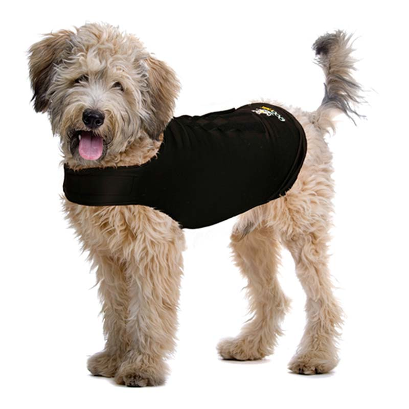 Contech Zendog Calming Compression Shirt Extra Extra Large Black Dog Wellness - London the Local
