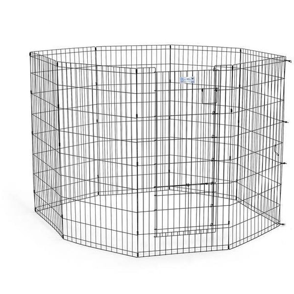 Midwest Life Stages Pet Exercise Pen/Pet Playpen with Split Door