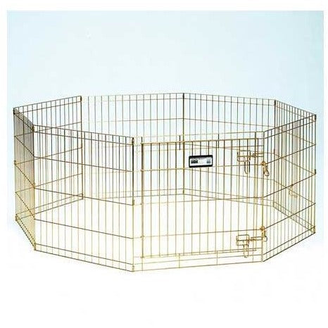 Midwest Gold Zinc Pet Exercise Pen/Pet Play Pen