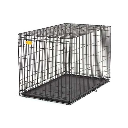 Midwest Life Stage A.C.E. Single Door Dog Crate, Black
