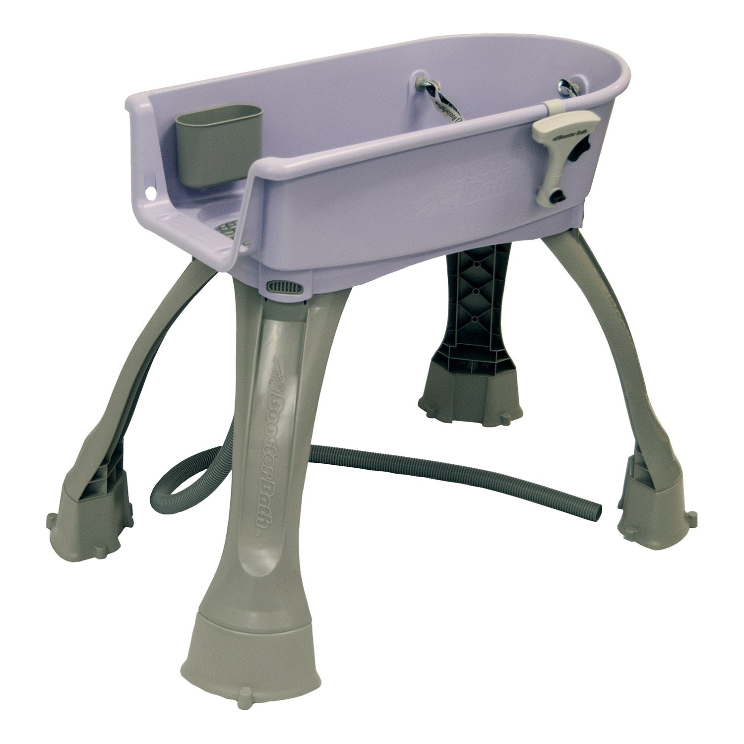 "Booster Bath Elevated Dog Bath and Grooming Center Medium Lilac 33"" x 16.75"" x 10"" Dog Grooming - London the Local"