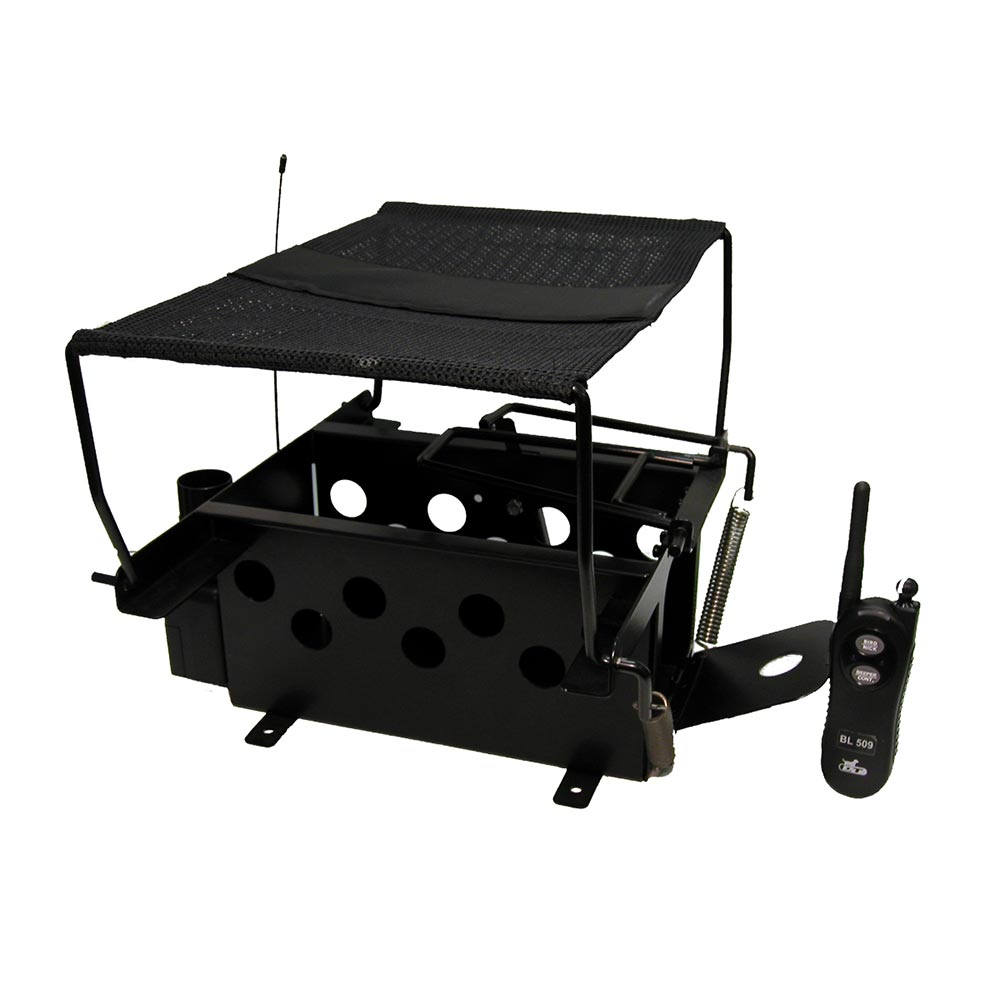 D.T. Systems Remote Bird Launcher for Quail and Pigeon Size Birds Black Dog Sporting Dog - London the Local