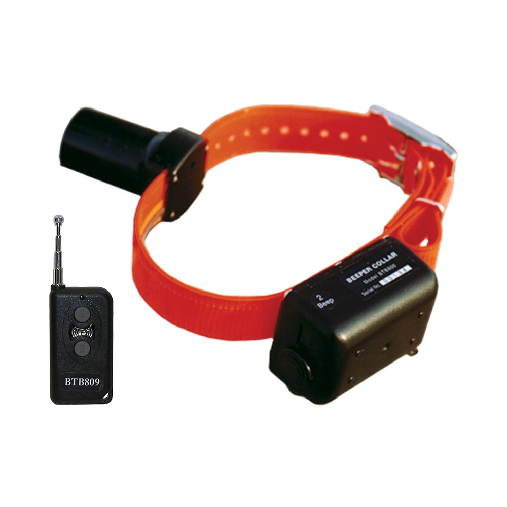 D.T. Systems Baritone Dog Beeper Collar With Remote Orange Dog Sporting Dog - London the Local