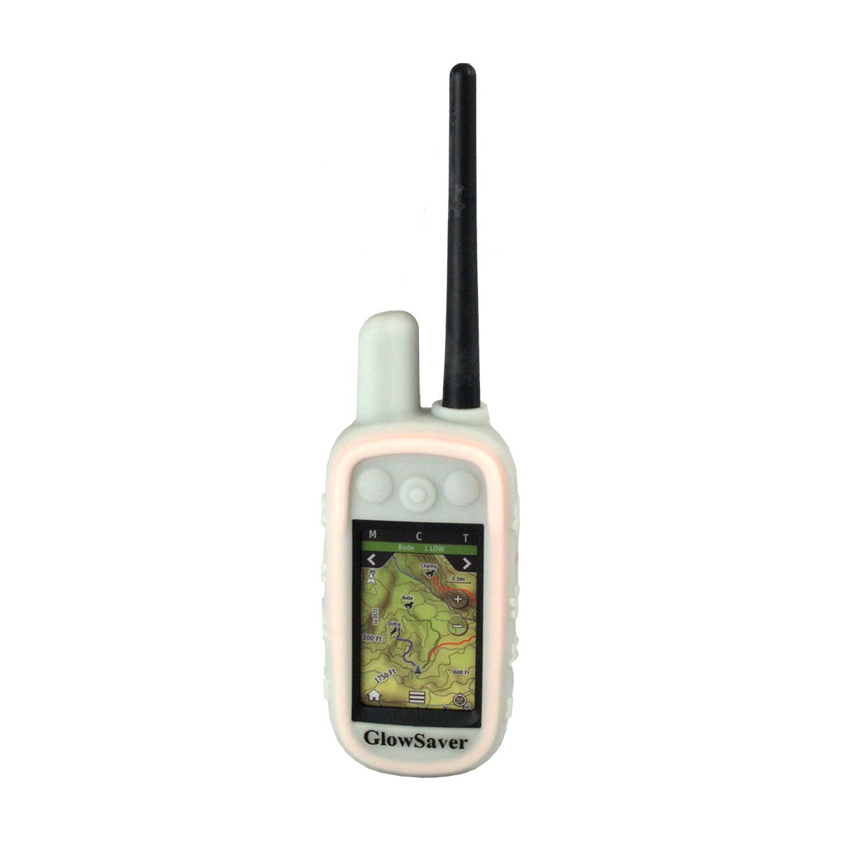 The Buzzard's Roost GlowSaver Case for Alpha with Screen Protectors Dark Green Dog GPS Tracking - London the Local