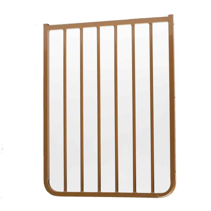 "Cardinal Gates Stairway Special Outdoor Gate Extension Brown 21.75"" x 1.5"" x 29.5"" Dog Gates - London the Local"
