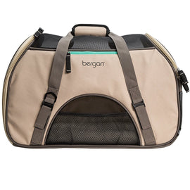 "Bergan Pet Comfort Carrier Large Taupe 19"" x 10"" x 13"""