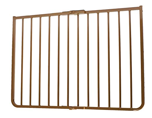 "Cardinal Gates Stairway Special Outdoor Wall Mounted Pet Gate Brown 27"" - 42.5"" x 1.5"" x 29.5"" Dog Gates - London the Local"