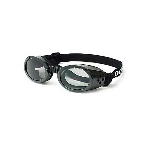 Doggles ILS Dog Sunglasses Extra Small Black / Smoke Dog Wellness - London the Local