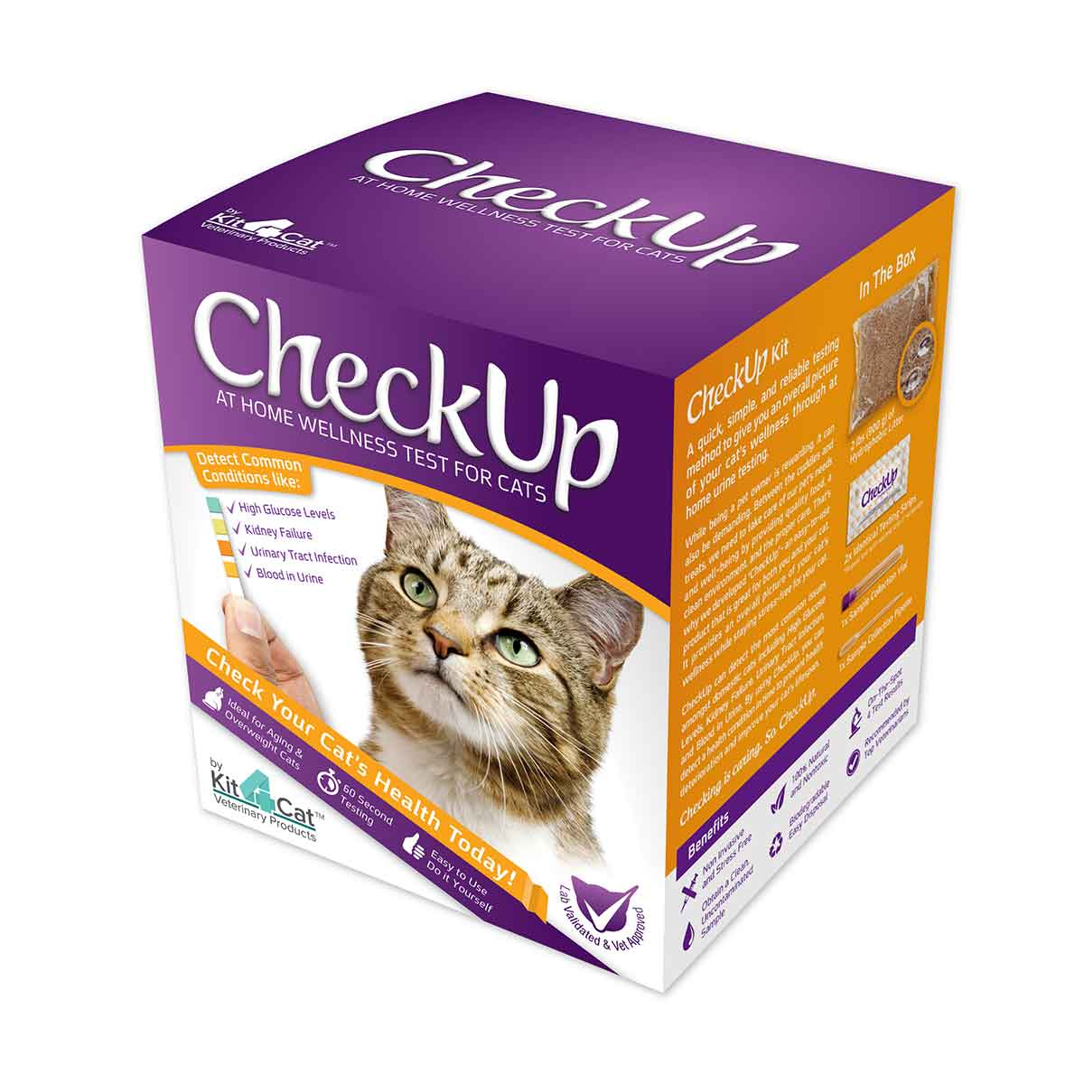 Coastline Global Checkup - At Home Wellness Test for Cats Cat Wellness - London the Local