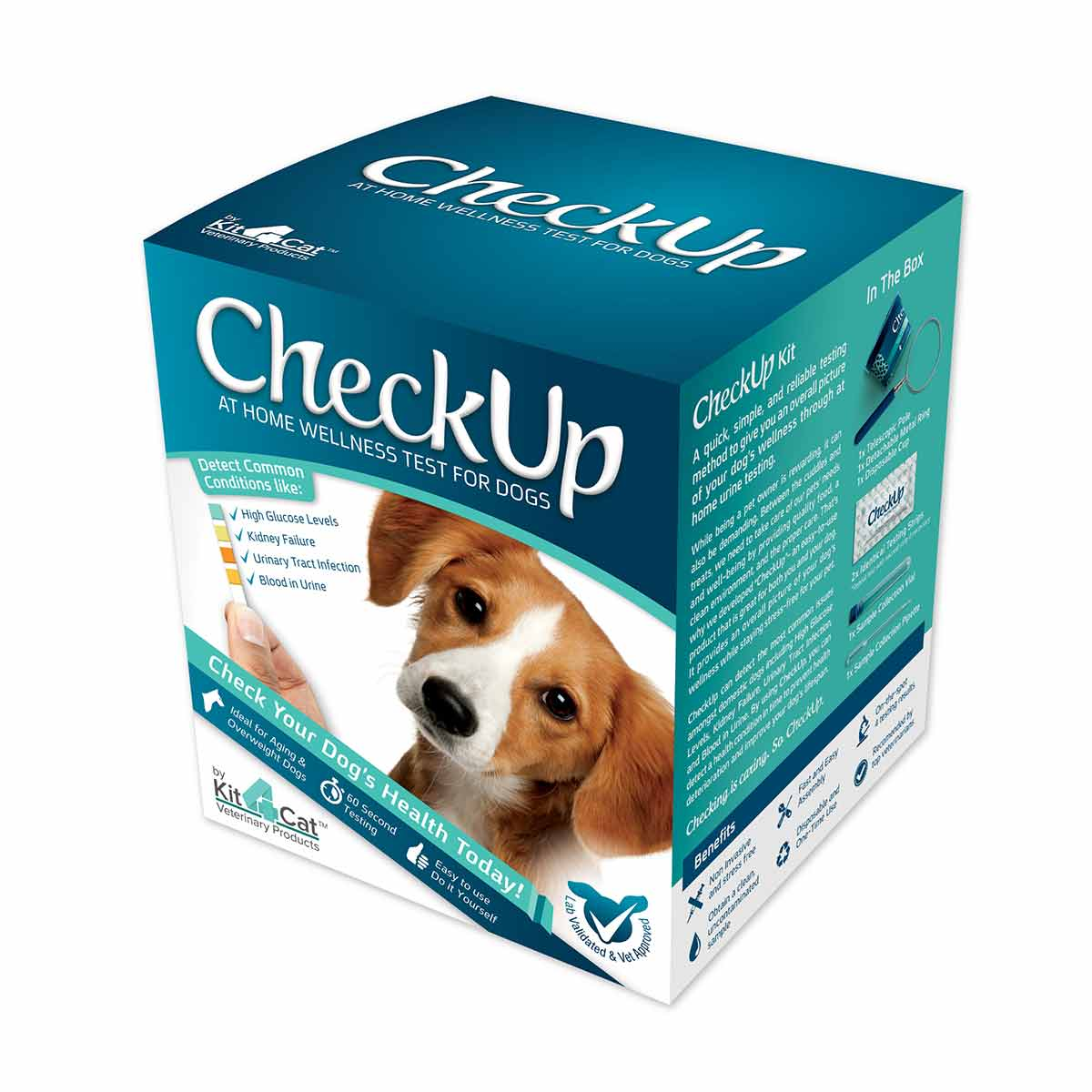 Coastline Global Checkup - At Home Wellness Test for Dogs Dog Wellness - London the Local