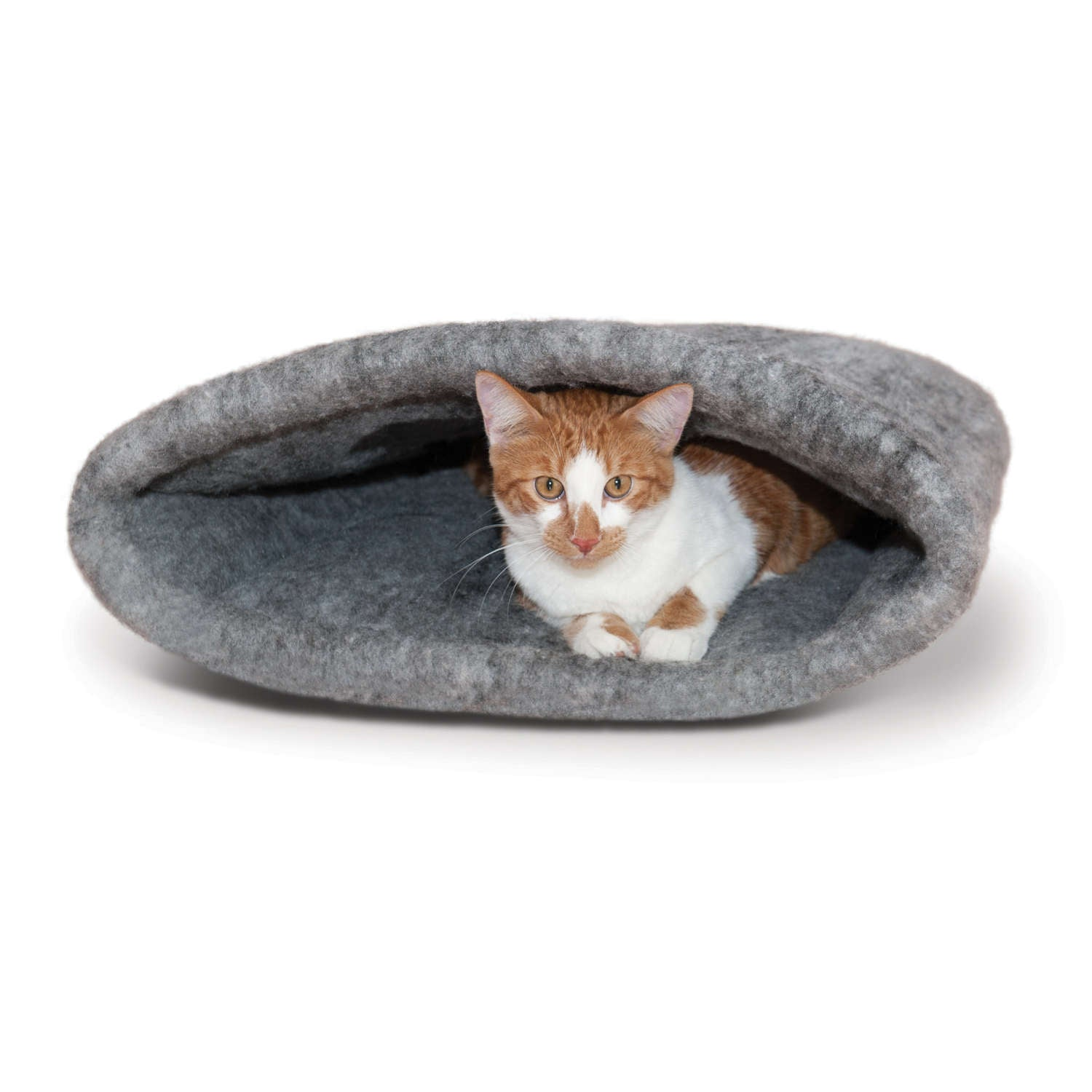 "K&H Pet Products Amazin' Kitty Sack Gray 22"" x 20"" x 20"" Cat Beds - London the Local"