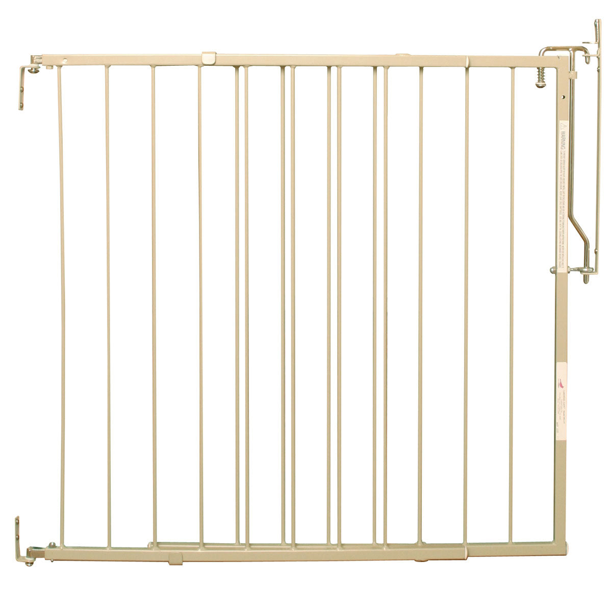 "Cardinal Gates Duragate Hardware Mounted Dog Gate Taupe 26.5"" - 41.5"" x 1.5"" x 29.5"" Dog Gates - London the Local"