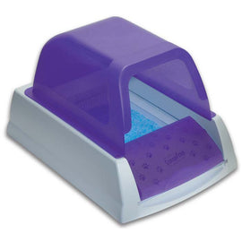 PetSafe-ScoopFree Ultra Self-Cleaning Cat Litter Box--Purple-Litter Boxes-Cat-Litter Boxes