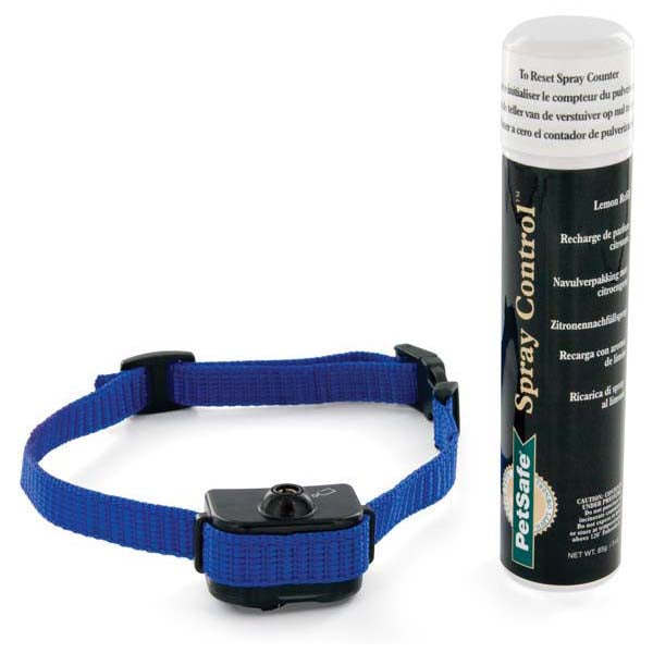 PetSafe-Little Dog Spray Bark Control Collar--Blue-Spray Bark Control-Dog-Bark Control