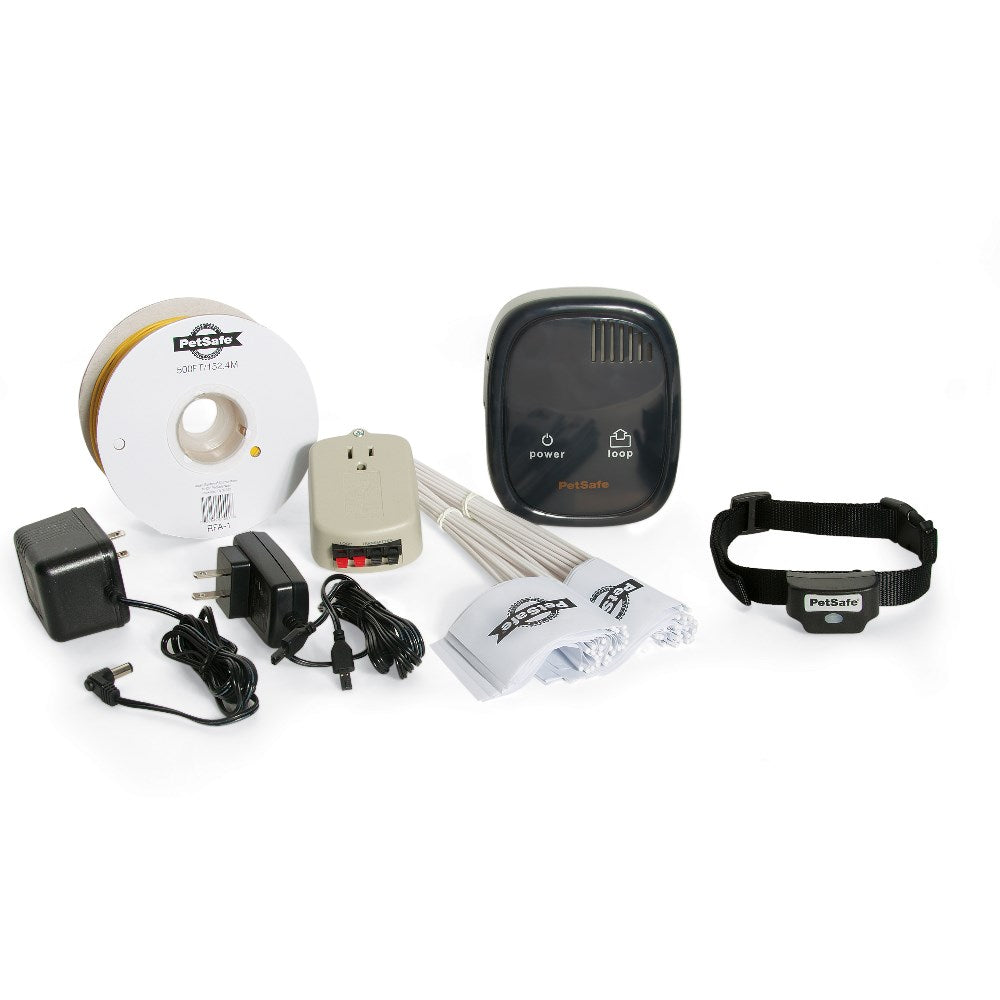 PetSafe-Rechargeable In-Ground Dog Fence--Black-In-Ground Fences-Dog-Containment Systems