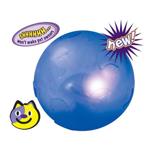 Petstages Twinkle Ball Blue Cat Toys - London the Local