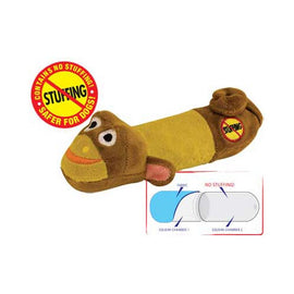 Petstages Stuffing Free Lil' Squeak Monkey Brown / Yellow Dog Toys - London the Local