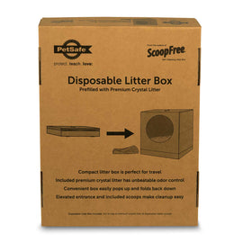 PetSafe-Disposable Litter Box--Brown-Litter Boxes-Cat-Litter Boxes
