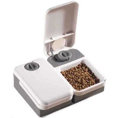 PetSafe 2 Meal Automatic Pet Feeder Dog Dog Feeding and Watering - London the Local