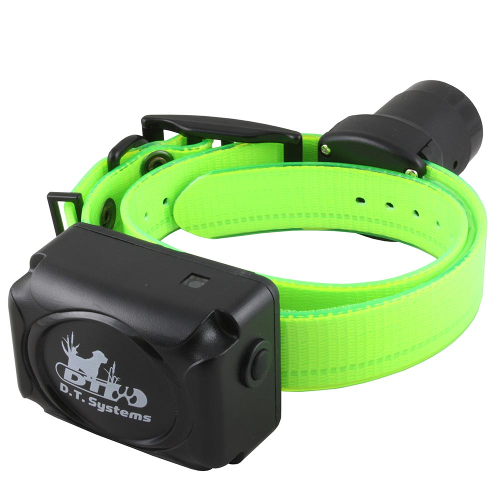 D.T. Systems R.A.P.T. 1450 Additional Dog Collar Green Dog Training - London the Local