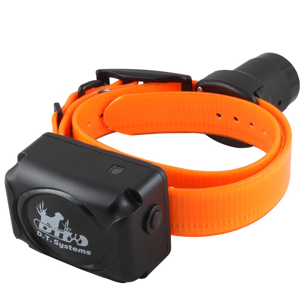 D.T. Systems R.A.P.T. 1450 Additional Dog Collar Orange Dog Training - London the Local