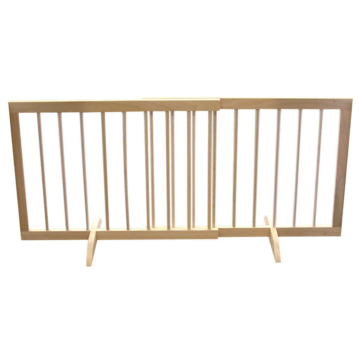 "Cardinal Gates Step Over Free Standing Pet Gate Light Oak 28"" - 51.75"" x 2"" x 20"" Dog Gates - London the Local"