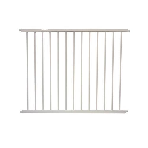 "Cardinal Gates VersaGate Hardware Mounted Pet Gate Extension White 40"" x 30.5"" Dog Gates - London the Local"