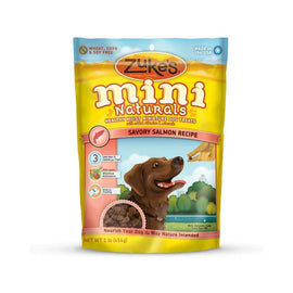 Zuke's Mini Naturals Moist Miniature Treat for Dogs Savory Salmon 1 lbs. Dog Treats and Bones - London the Local