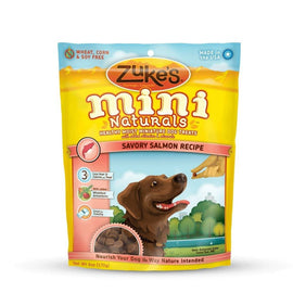 Zuke's Mini Naturals Moist Miniature Treat for Dogs Savory Salmon 6 oz. Dog Treats and Bones - London the Local
